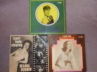 Deanna Durbin 3(three) Albums LP's
