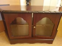 Tv cabinet dark brown