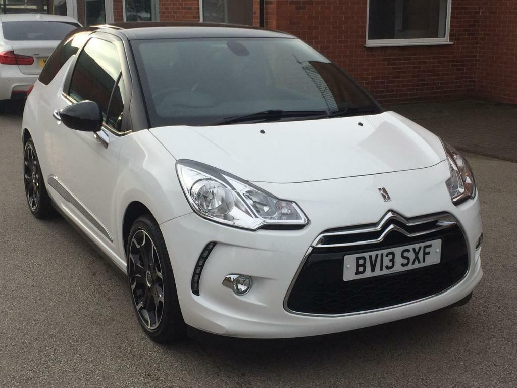 citroen ds3 1 6 e hdi airdream dstyle plus 3dr white 2013 in burton on trent staffordshire. Black Bedroom Furniture Sets. Home Design Ideas