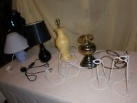House Clearance. Lamps. Kitchenalia. Juicer.