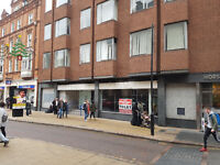 Superior Ground Floor Shop To Let On Horsefair Street in Prime Location in Leicester City Centre