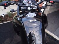 DERBI TERRA 125, 2016, WITH FITTED UPGRADES.