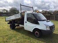 Ford transit twin wheel tipper NO VAT