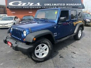 2009 Jeep WRANGLER UNLIMITED X | 2 TOPS | 1 OWNER | 4WD | NO ACC