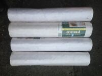 4 rolls wallpaper