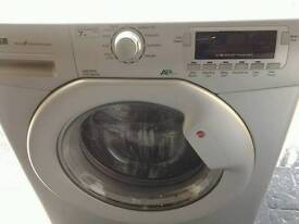 Hoover washing machine. 12 months old silver