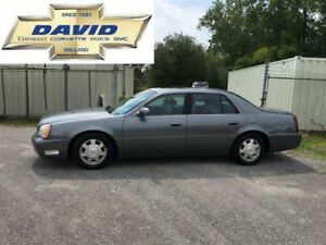2003 Cadillac DeVille Base, AS TRADED, ROOF, HSEATS, ALLOYS
