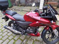 Honda CBF125 2014 Red