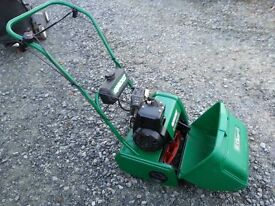 QUALCAST 35s PETROL LAWNMOWER SELFPROPELLED VERY NICE CONDITION