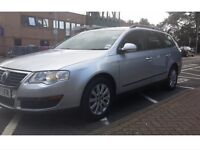 WOLKSWAGEN PASSAT ESTATE B6 (2005-2009) 1.9 TDI IN SILVER BREAKING,FOR ANY PARTS CALL 07411941369