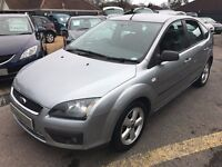 2005/05 FORD FOCUS 1.6 ZETEC CLIMATE 5 DR SILVER,SERVICE HISTORY,ECONOMICAL TO RUN,LOOKS+DRIVES WELL