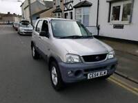54 PLATE DAIHATSUI TERIOUS. 4X4. 1.3 PETROL. 11 MONTHS MOT. PX WELCOME