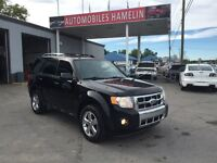 2009 Ford Escape Limited 3.0L CUIR TOIT MAGS CHROMER