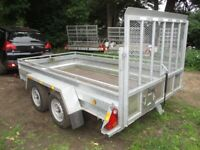 2018 CLH 10-9 X 5-9 TWIN AXLE (2750KG) GOODS TRAILER WITH RAMPTAIL.....
