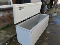 Large white chest freezer on clearance at just £200 Only!! ( very rare size )