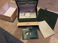 ROLEX WAVE BOX WITH PAPERS