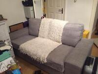 Two seat sofa KIVIK ikea Light grey
