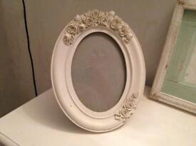 Set of French style photo frames
