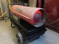 Paraffin/diesel space Workshop heater