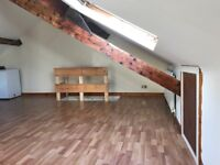 Large loft room 20' x 20, in south gosforth sharing with 3 others