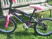 Cosmic butterfly girls bike