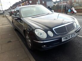Mercedes benz e320 cdi long Mot 137000 miles full service history leather interior heating sites