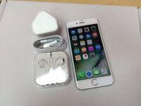 Apple iPhone 6 64GB, Silver, Unlocked, +WARRANTY, NO OFFERS