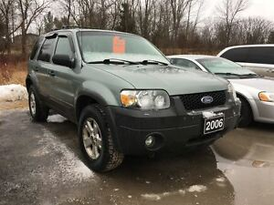 2006 Ford Escape XLT 4x4, 3.0L V6, New Tires