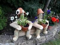Flower pot men and women