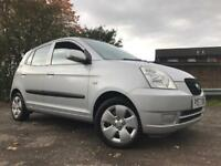 Kia Picanto 1L Petrol 2007 Long Mot Low Mileage Full Service History Immaculate Condition Cheap Car!