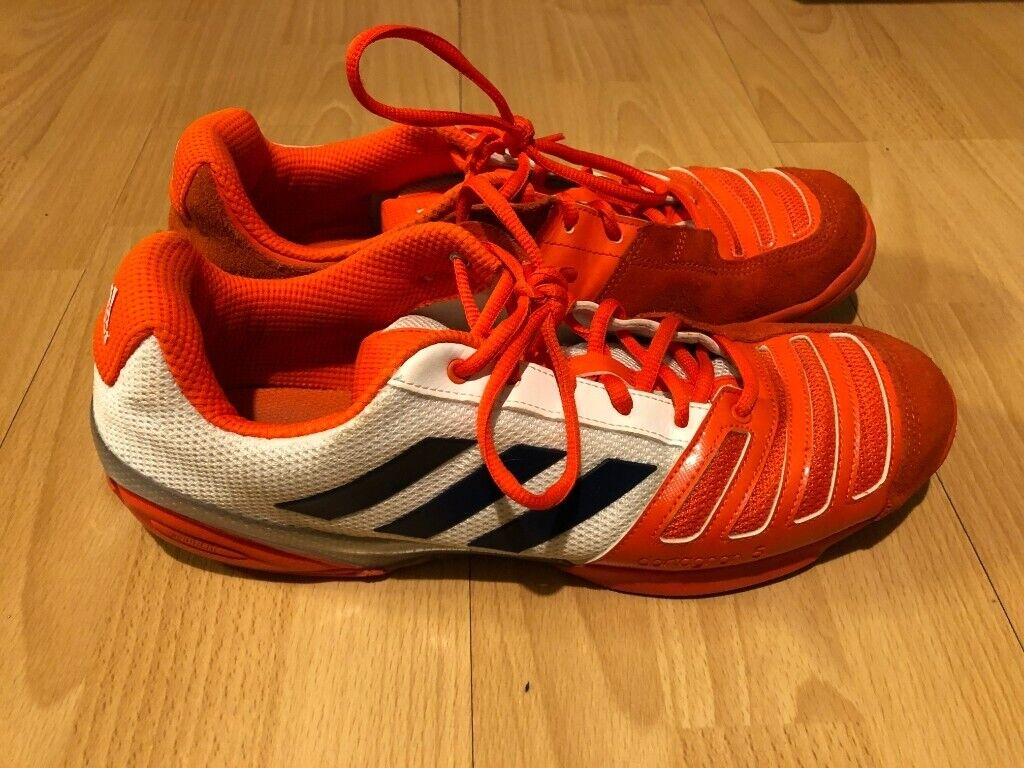 bbf763011c7 Fencing shoes Adidas D Artagnan V orange UK size 11.5 US size 12 FREE  DELIVERY