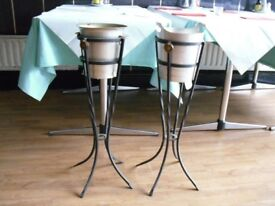 Wine stand with Buckets
