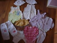 baby girl clothes bundle size 3-6 months