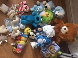 Soft toys £10 Ono