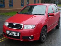 """SKODA FABIA VRS"" TIMING BELT DONE RECENTLY, 12 MONTHS M.O.T, ZENON HEADLIGHTS"