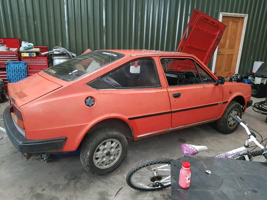 1988 Skoda Estelle Rapid 130 5 Speed Classic Barn Find