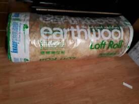 Loft insulation full roll in packet.