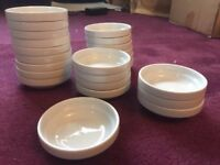 23X small dip bowl shallow dish pinch pot