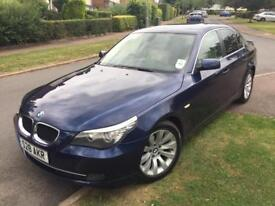 BMW 5 Series 520d SE 2008 full leather Excellent in and out, 1 Years MOT