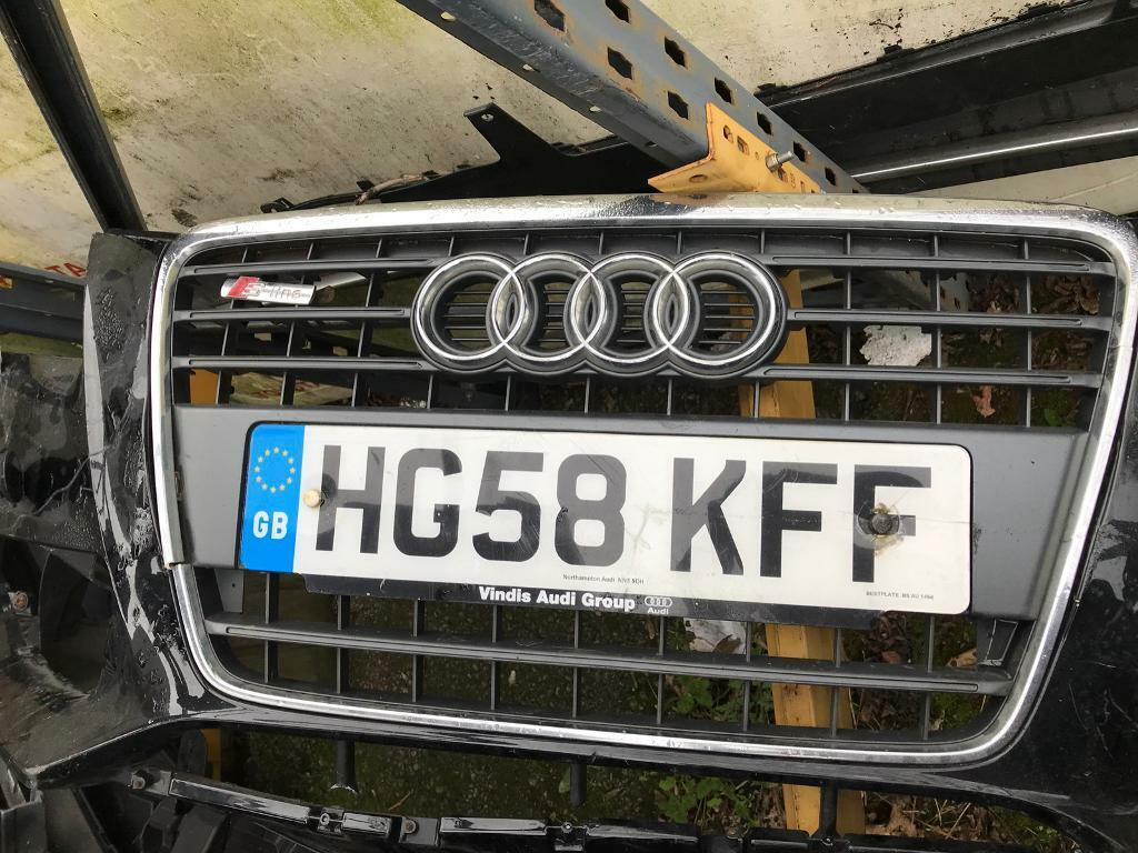 Audi A4 S Line 2008-2012 front grill