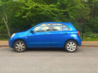 Nissan Micra 1.2 Acenta - bluetooth, sat nav, AC etc. 2 owners low miles.