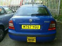2 Skoda Octivia's for sale both Spares or Repairs