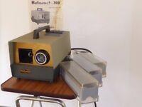 Vintage (1960's) HALINAMAT 300 semi-automatic Slide Projector