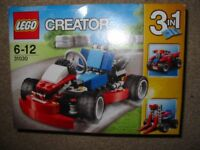 LEGO CREATOR 3 IN 1 , AGE 6-12, IMMACULATE/NEVER OPENED - READY NOW