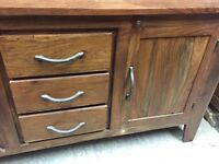 Rustic solid wood sideboard shabby chic project