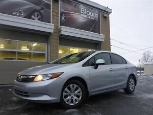 2012 Honda Civic LX, Automatique, 71817km