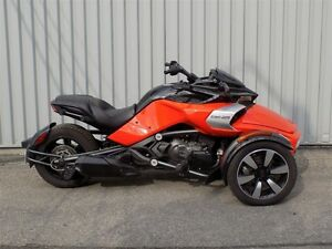 2016 can-am Spyder F3-S SE6 -
