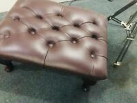 As new Chesterfield footstool