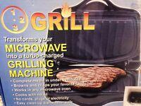 Microwave Turbo Grilling Machine