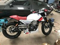 FB Mondial HPS Hipster 125 Motorbike- Year 2018- New- Red & White